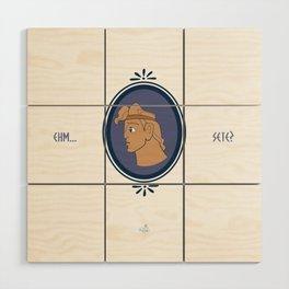 Bibitone greco Wood Wall Art