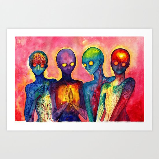 Hot Shots Art Print