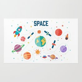 Space Life Rug