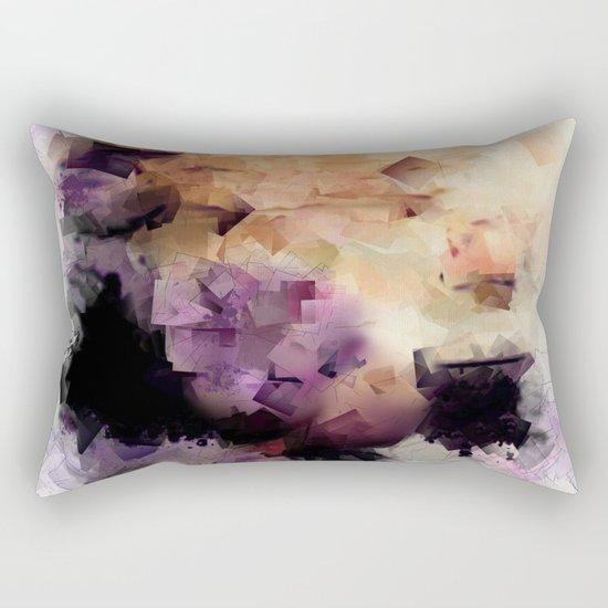 Abstract cubism pattern no. 2 Rectangular Pillow