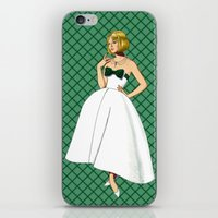 emerald iPhone & iPod Skins featuring Emerald by Tom Tierney Studios