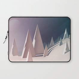 Winter trees landscape Laptop Sleeve