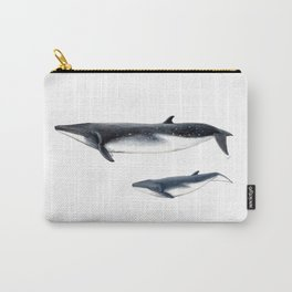 Bryde´s whale and baby whale Carry-All Pouch