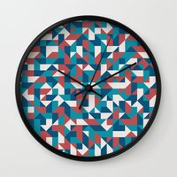 native Wall Clocks featuring Native by Matt Borchert