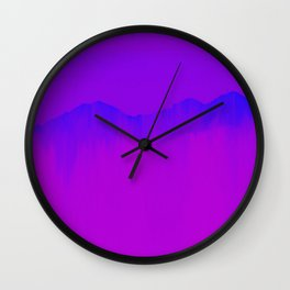 Mountain III Wall Clock