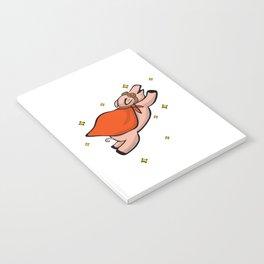 Swine in the sky with diamonds Notebook