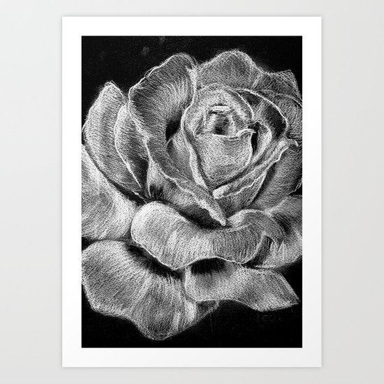 SilverRose Art Print