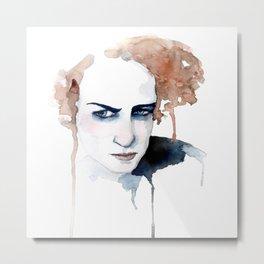 Miss Johansson Metal Print