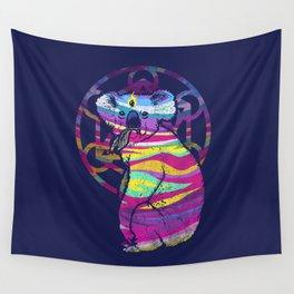 Enlightended  Koala Wall Tapestry