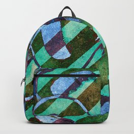 Expressionist Diagonal Backpack