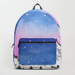 Camping Under The Stars Backpack
