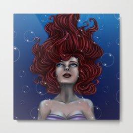 Tears of a Mermaid Metal Print