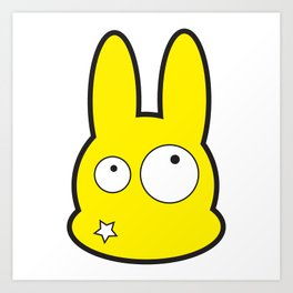 Bunny Star Art Print