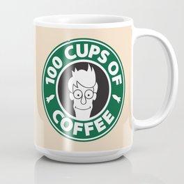 100 Cups of Coffee Coffee Mug