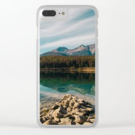Patricia Lake Clear iPhone Case
