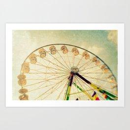funtastic wheel Art Print