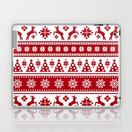 Christmas Holiday Nordic Pattern Cozy Laptop & iPad Skin