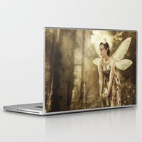 games Laptop & iPad Skins featuring Faerie Games by Ginger Kelly Studio