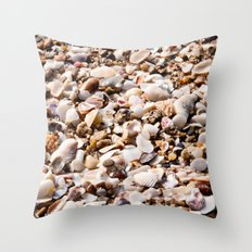 shells for days  Throw Pillow