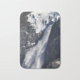 Avalanche on Aoraki / Mount Cook. Bath Mat