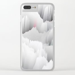 Sound Wave Clear iPhone Case