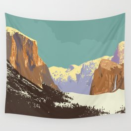 Yosemite National Park Wall Tapestry