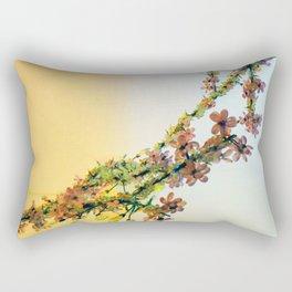 Crystalline Flowers Rectangular Pillow