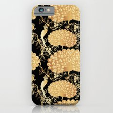 golden peacock iPhone 6s Slim Case