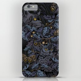 Fit In (moonlit blue) iPhone Case