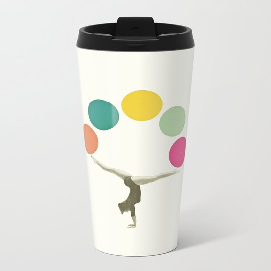 Gymnastics II Metal Travel Mug