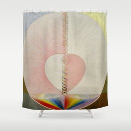"Hilma af Klint ""The Dove, No. 01, Group IX-UW, No. 25"" Shower Curtain"