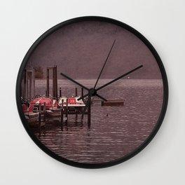 Lugano Vintage Wall Clock