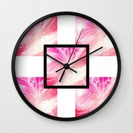 Butterfly 1 Wall Clock