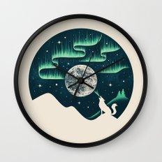 Arctic Tune Wall Clock