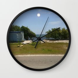 Roadside Wall Clock