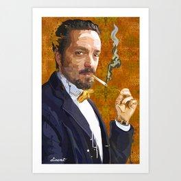 PORTRAIT: Gentleman Art Print