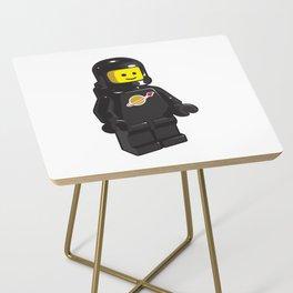 Vintage Black Spaceman Minifig Side Table