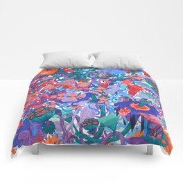 Flower Village Comforters