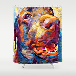Labrador Retriever 5 Shower Curtain