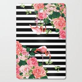 tropical flamingo Cutting Board