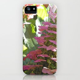 Cascading Flowers iPhone Case
