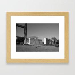 A Question of Inevitable Demise II Framed Art Print