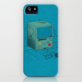Old Video Game Console iPhone Case