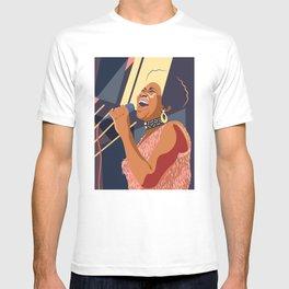 Aretha Franklin Portrait T-shirt