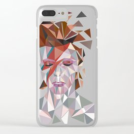 Bowie Stardust Clear iPhone Case