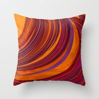 gypsy Throw Pillows featuring Gypsy by Orton and Ball