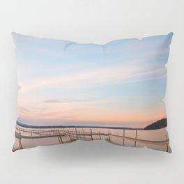 Saratoga Lake Sunset Pillow Sham