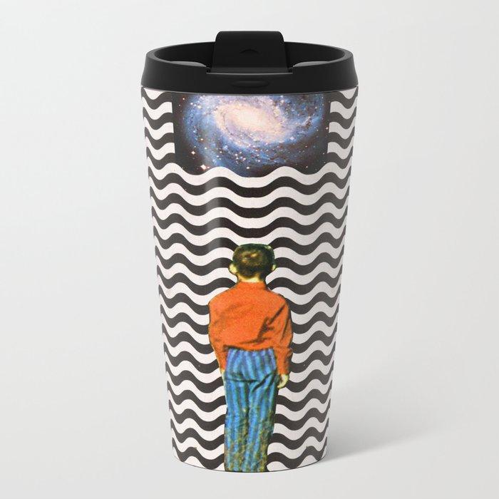 Illusion sleep   Metal Travel Mug