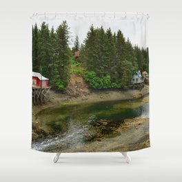 Seldovia Slough - Alaska Shower Curtain
