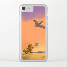 Fox and Boots - Migration Clear iPhone Case